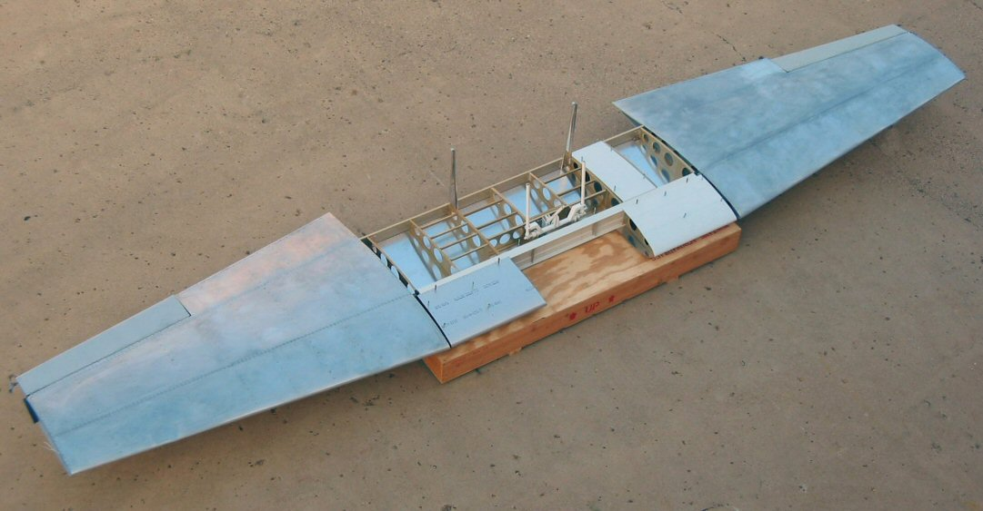 Midget mustang airfoil